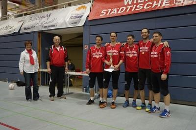 Die Gewinner der AK 1: Polizei SV Wien