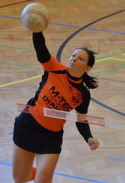 Karin Azesberger, Kapitänin U.R.D.T. Arnreit - (Fotograf: Manfred Lindorfer)
