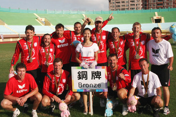 Bronze für das Faustball Team Austria bei den World Games 2009 in Taiwan