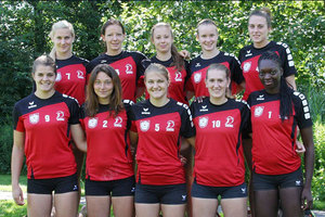 Faustball Team Austria Frauen 2014