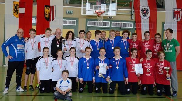 Siegerbild ÖM U16 Männlich