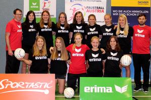 Faustball Team Austria - Weibliche Jugend U18