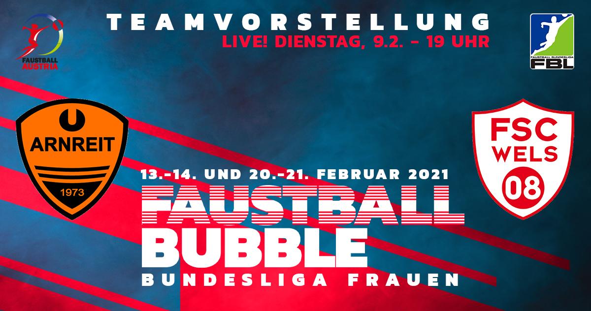 Faustball Bubble Bundesliga Frauen Halle 2021
