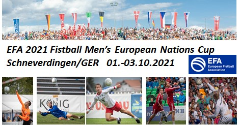 EFA 2021 Men's European Nations Cup | 01.-03.10.2021 | Schneverdingen (Deutschland))