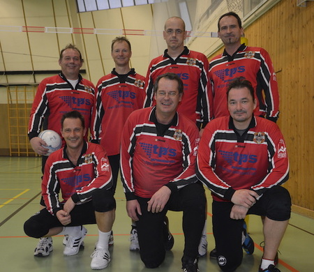 Sieger der Männer 45+: Polizei SV Wien