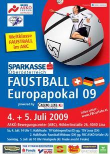 Faustball Europapokal Herren 2009 in Linz