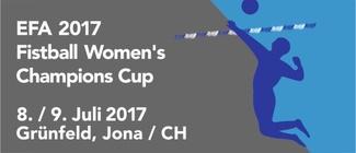 EFA 2017 Fistball Women's Champions Cup | 8./9.7.2017 | Jona (Schweiz)