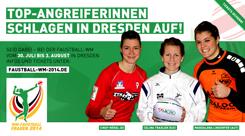 Frauen-WM2014 in Dresden