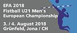 EFA 2018 U21 Men's European Championship | 3./4.8.2018 | Jona (Schweiz)