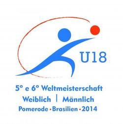 U18 WM 2014 in Pomerode / Brasilien